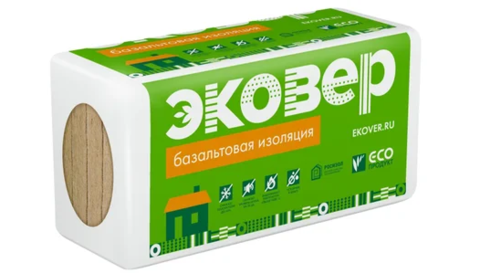 Эковер Стандарт 50 кг/м3 1000х600х50 12 шт