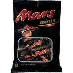 Шоколадные батончики Mars мини 182 г