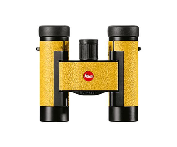 Бинокль Leica Ultravid Colorline 8x20 Lemon Yellow - фото 1