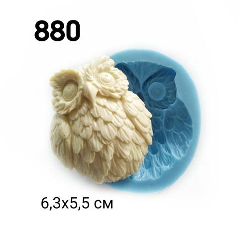 0880 Молд силиконовый. Сова