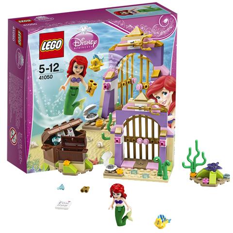 LEGO Disney Princess: Тайные сокровища Ариэль 41050 — Ariel's Secret Treasures — Лего Принцессы Диснея