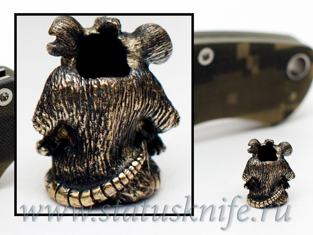 Темлячная бусина Мышь - фотография
