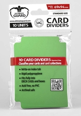 Card Dividers: Green