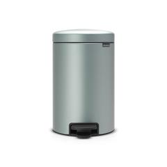 Мусорный бак newicon (12 л), Мятный металлик