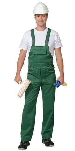 Полукомбинезон  рабочий Зеленый