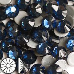 Стразы горячей фиксации клеевые стеклянные термостразы Montana Монтана темносиний на StrazOK.ru