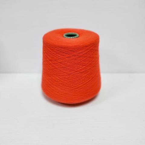 Cariaggi, Cashmere, Кашемир 100%, Оранжевый люминисцентный, 2/28, 1400 м в 100 г