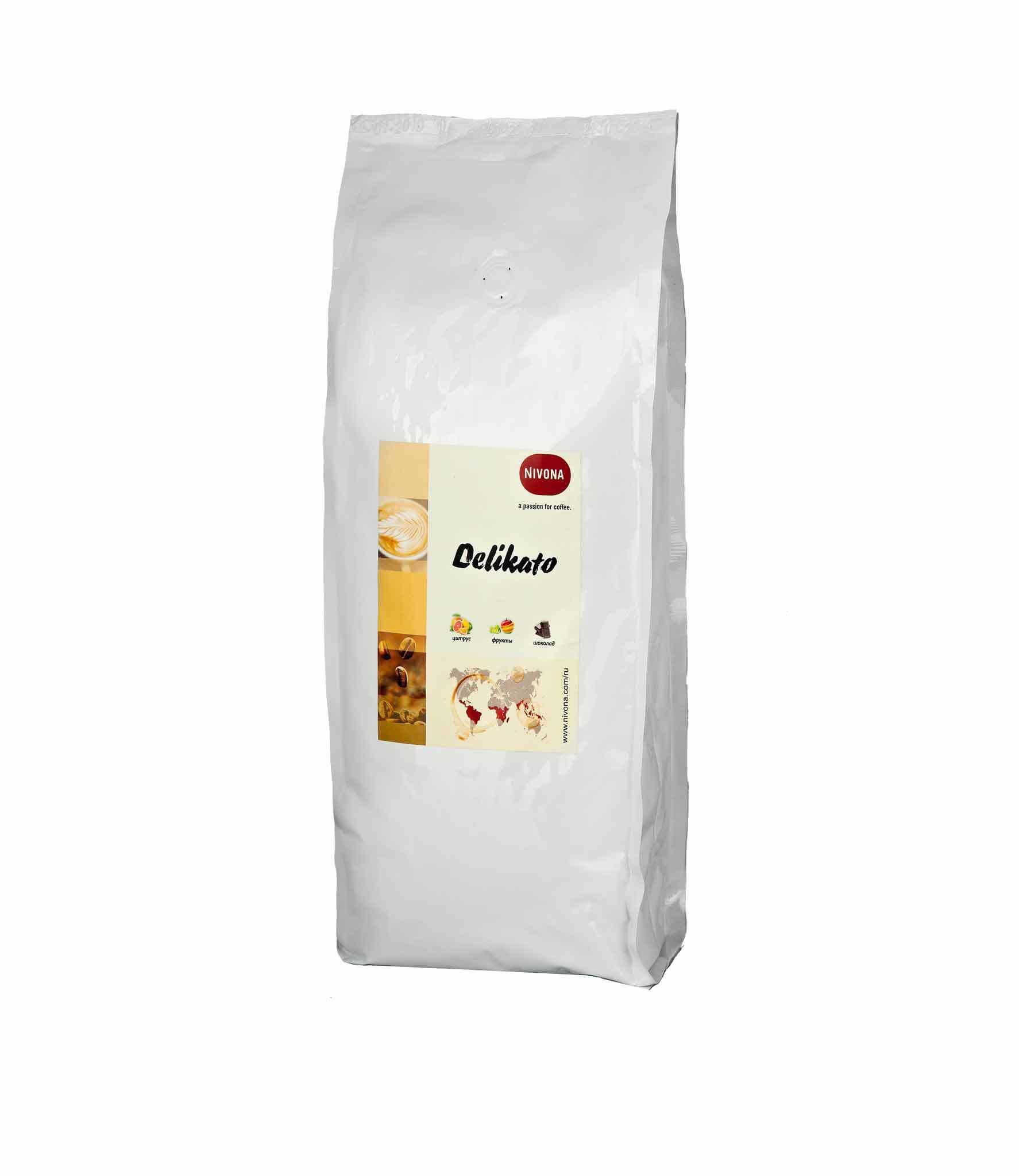 Кофе в зернах Nivona DELICATO, 500 гр.