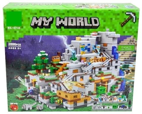 Конструктор My World 10735 Горная пещера