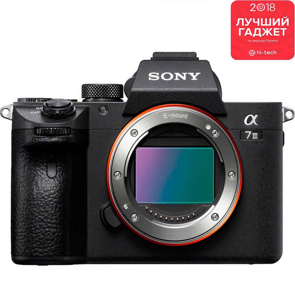 Полнокадровый фотоаппарат Sony Alpha 7M3 без объектива в Sony Centre Воронеж