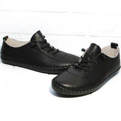 Мокасины кеды женские Evromoda 115 Black