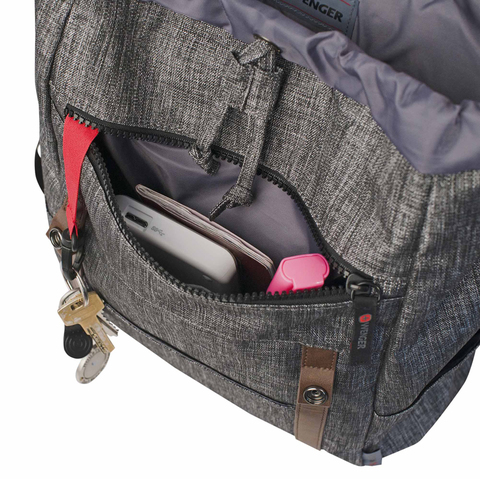 Картинка рюкзак городской Wenger  темно-серый - 5