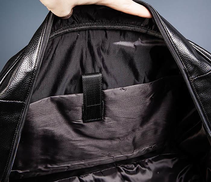 BAG521-1 Кожаная дорожная сумка с ручками и ремнем фото 09