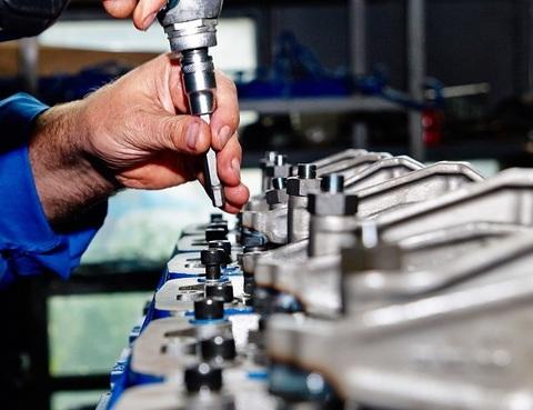 Дефектовка двигателя perkins 2200/2300/2500/2600/2800  серии в условиях мастерской Сервисного центра