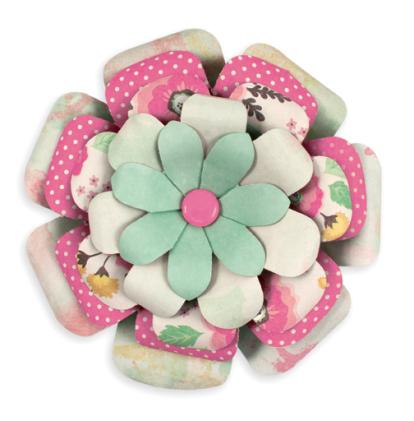 Доска для изготовления цветов Flower Punch Board