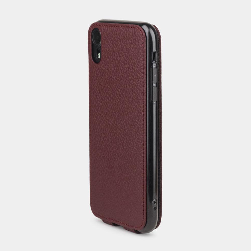 Case for iPhone XR - bordeaux