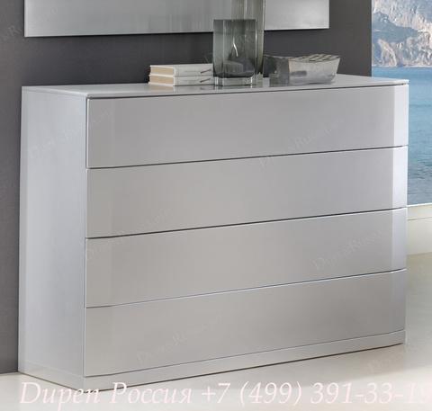 Комод горизонтальный DUPEN (Дюпен) С-102 серебро