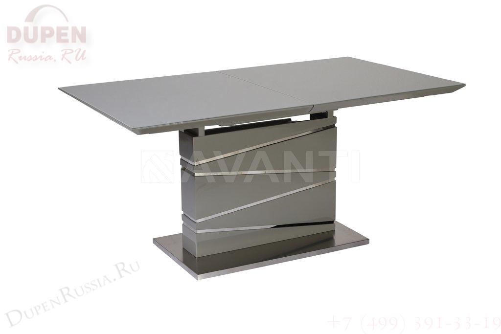Стол обеденный AVANTI ELEMENT (160) GREY (серый)