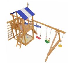 Детская деревянная игровая площадка Бретань