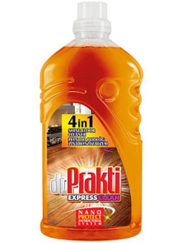 Dr.Prakti - жидкость для чистки полов  1 л с полиролью