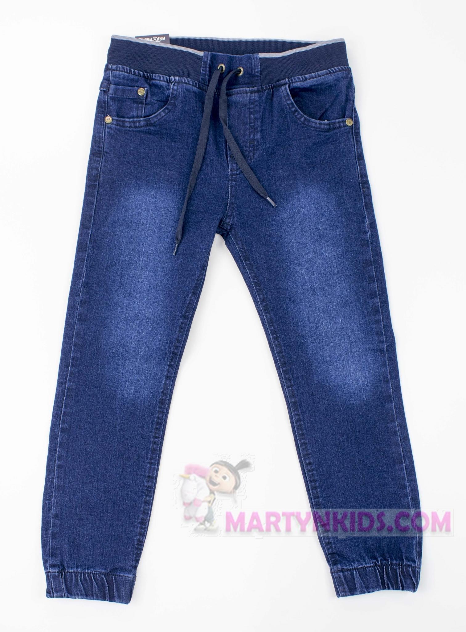 3162 джогеры джинс на резинке GOCER