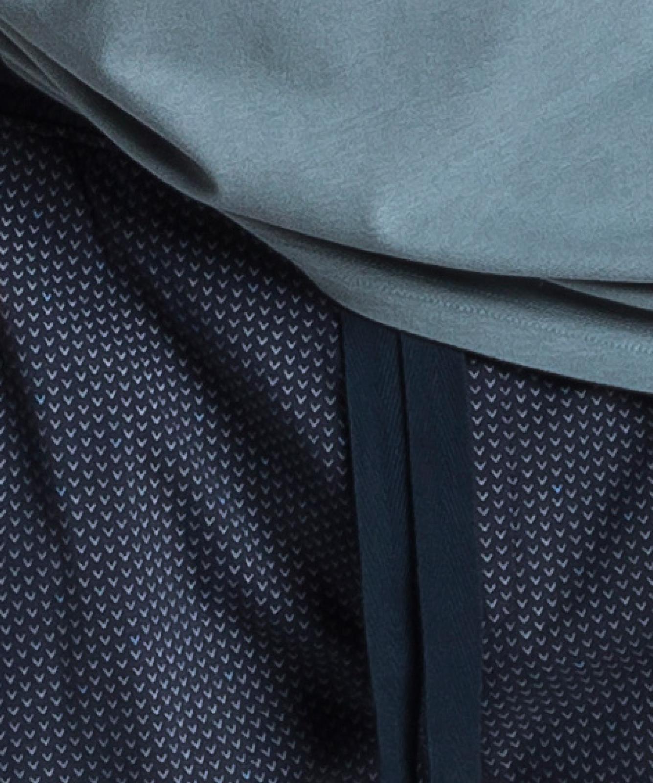 Мужская пижама Atlantic, 1 шт. в уп., хлопок, зеленая, NMP-347