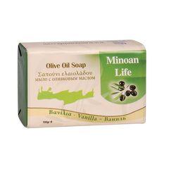 Оливковое мыло Ванильное OLIVE 100 гр