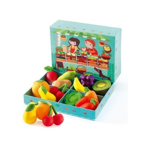 Сюжетно-ролевая игра «Овощная лавка»