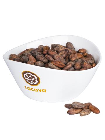 Какао-бобы цельные (Панама), внешний вид