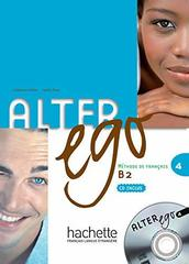 Alter Ego 4 Livre de l'eleve + CD **