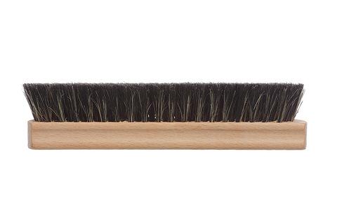 YOZHIK Щётка для обуви (160x47, чёрная натуральная щетина) фото сбоку
