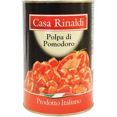 Кусочки очищенных помидоров в томатном соке Casa Rinaldi 4,05 кг