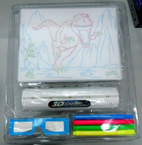Доска для рисования с подсветкой и 3D эффектом