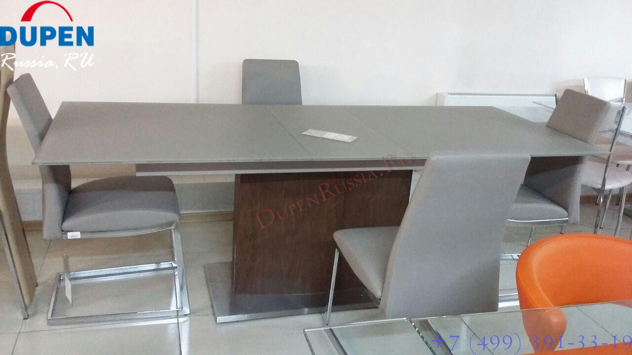 Стол ESF HT2156 орех и стулья ESF HD6101