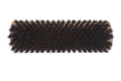 YOZHIK Щётка для обуви (160x47, чёрная натуральная щетина) фото сверху