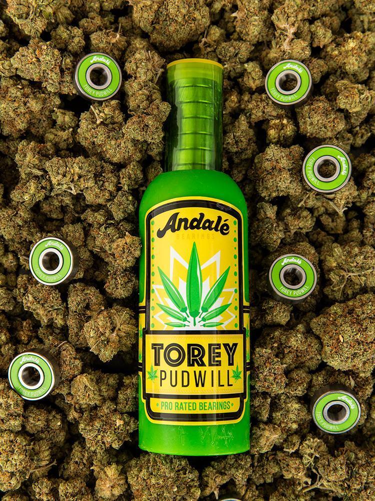 Подшипники для скейта ANDALE Torey Pudwill Green Sauce