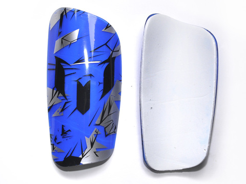 Щитки футбольные. Материал: пластмасса, пенорезина. Размер L.  HT-S2-L
