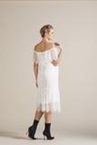 Платье для беременных 09779 белый