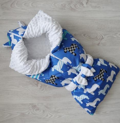 Одеяло - конверт - трансформер на выписку