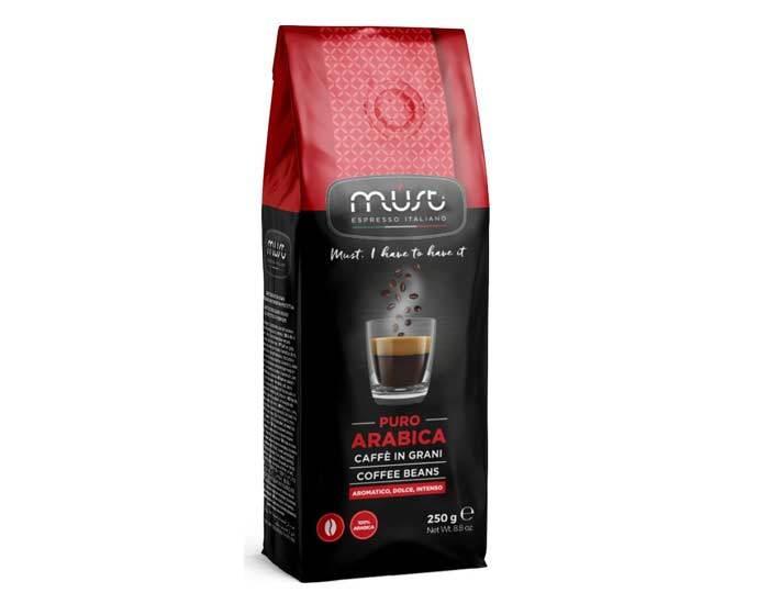 Кофе в зернах Must Pure Arabica, 250 г