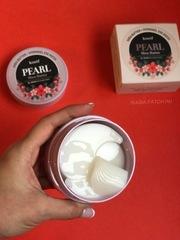 Гидрогелевые патчи для век с маслом ши и жемчужной пудрой Koelf Pearl Shea Butter Hydrogel Eye Patch