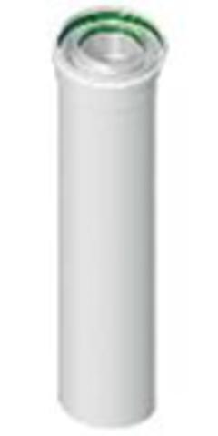Труба коаксиальная Ø60/100 500 мм папа/мама