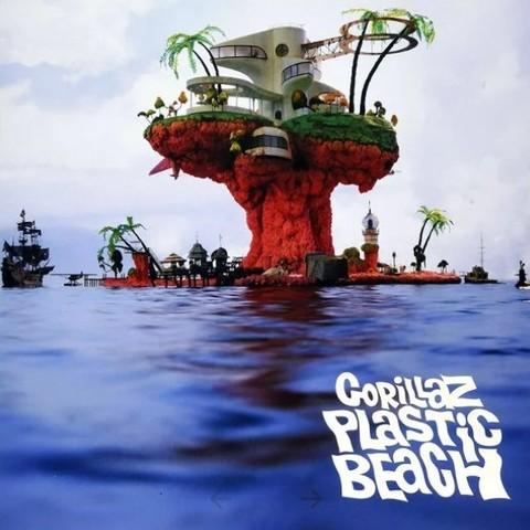 Виниловая пластинка. Gorillaz - Plastic Beach
