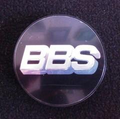Крышка центрального отверстия BBS 76.5 мм silver/black