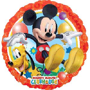 Фольгированный шар Микки и Плуто 18