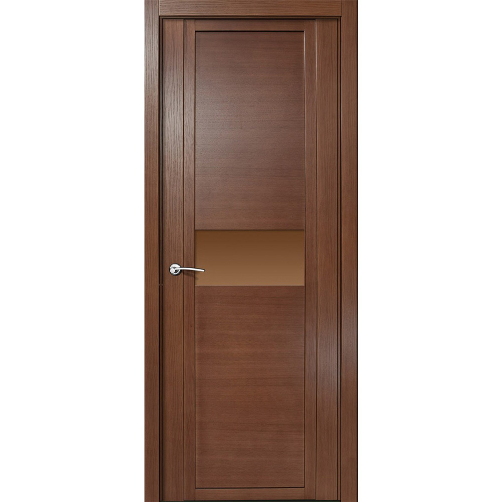 Офисные двери Межкомнатная дверь шпонированная Milyana QDO H дуб палисандр с бронзовым стеклом qdo-h-dub-palisndr-dvertsov.jpg