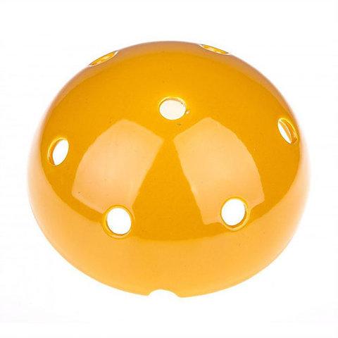 Чашка потолочная керамическая (Желтый)