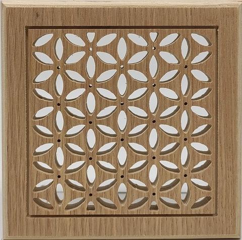 Решетка декоративная деревянная на магнитах Пересвет К-12 150х150мм