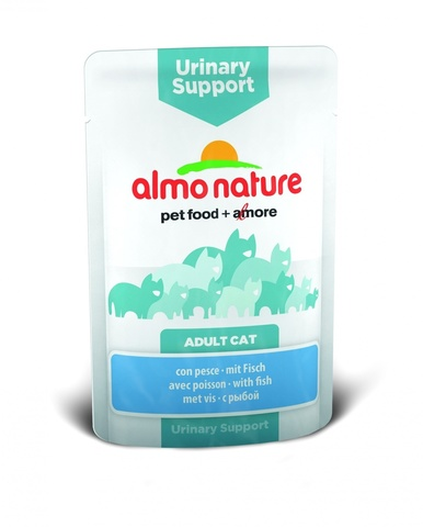 Паучи Almo Nature Functional - Urinary Support with Fish