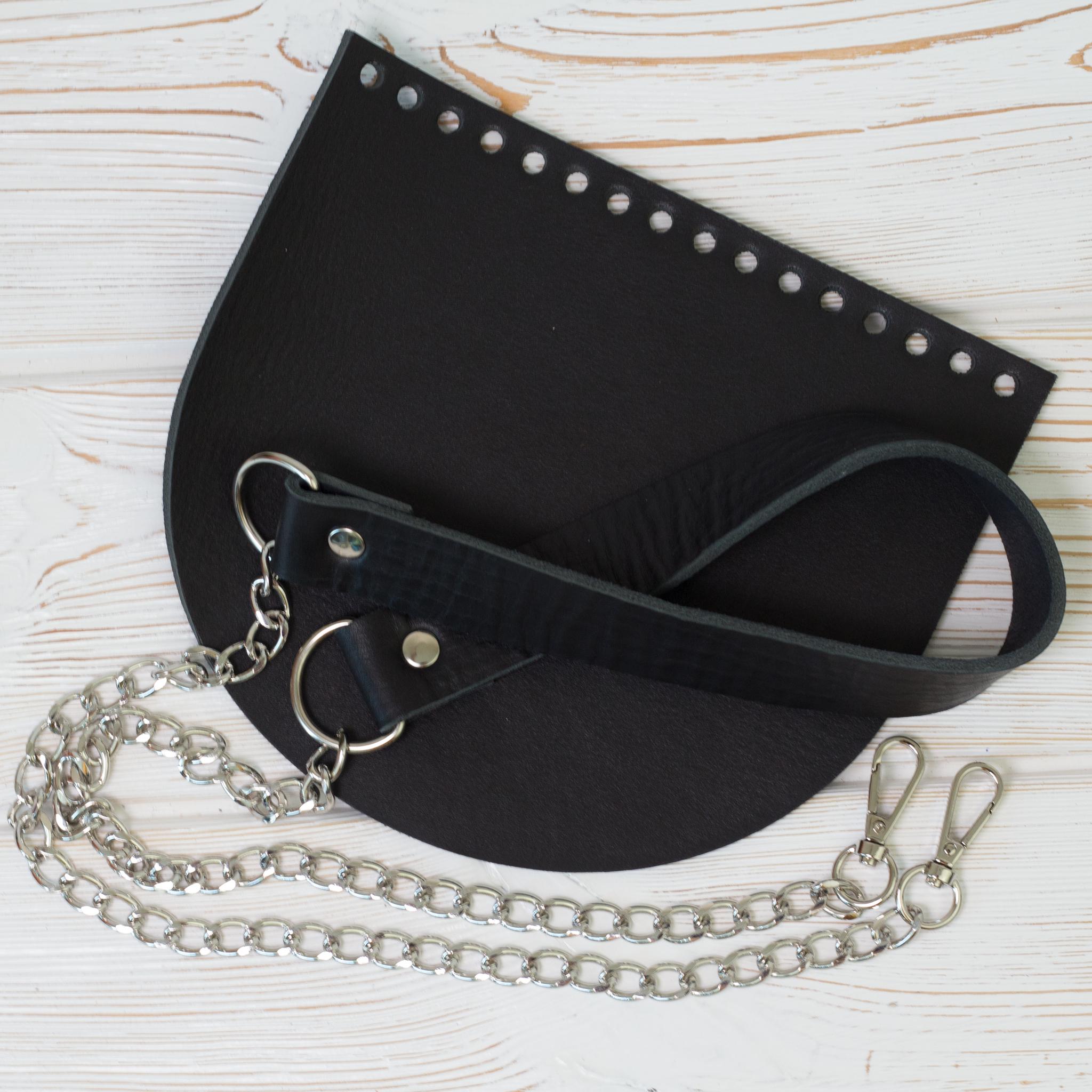 """Каталог Комплект для сумки """"Черный матовый"""" IMG_9630.jpg"""